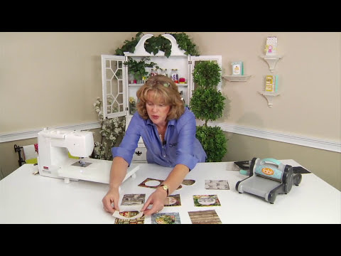 From the Sizzix Quilting Workshop: How to Make Charm Squares