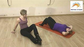 Похудение До и После Часть 4. Упражнения на Пресс Для Похудения