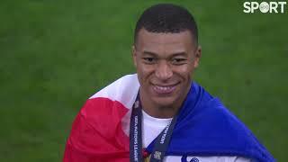 France celebrate winning the UEFA Nations League