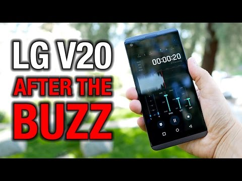 LG V20 After the Buzz: Even monsters need some love...