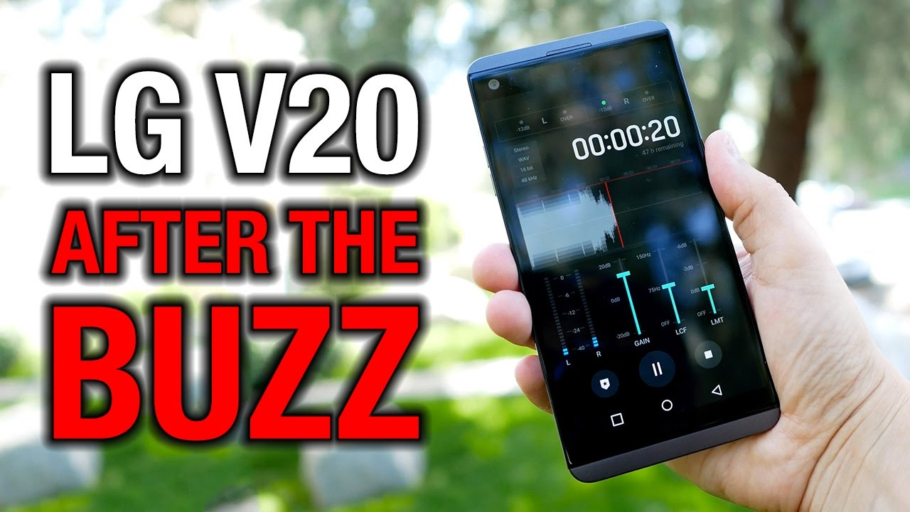 LG V20 After the Buzz: Even monsters need some love