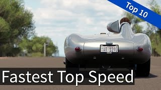 Forza Horizon 3: Top 10 - Fastest Top Speed Cars