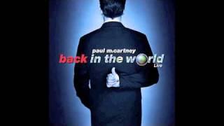 She's Leaving Home - Paul McCartney (Back In The World)