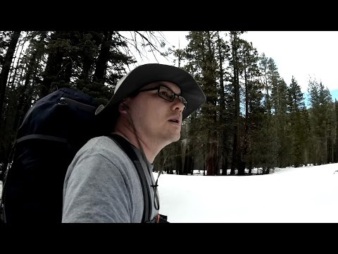 Yosemite Winter Backpacking - Happy Isles to Little Yosemite Valley