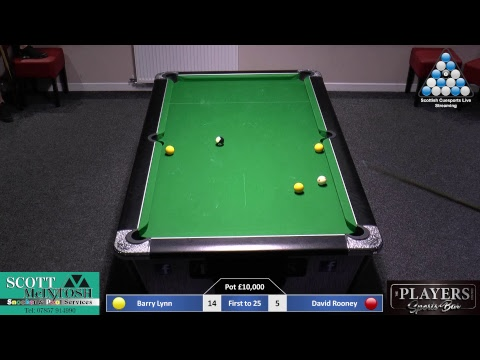 Barry Lynn V David Rooney Money Match Part 1
