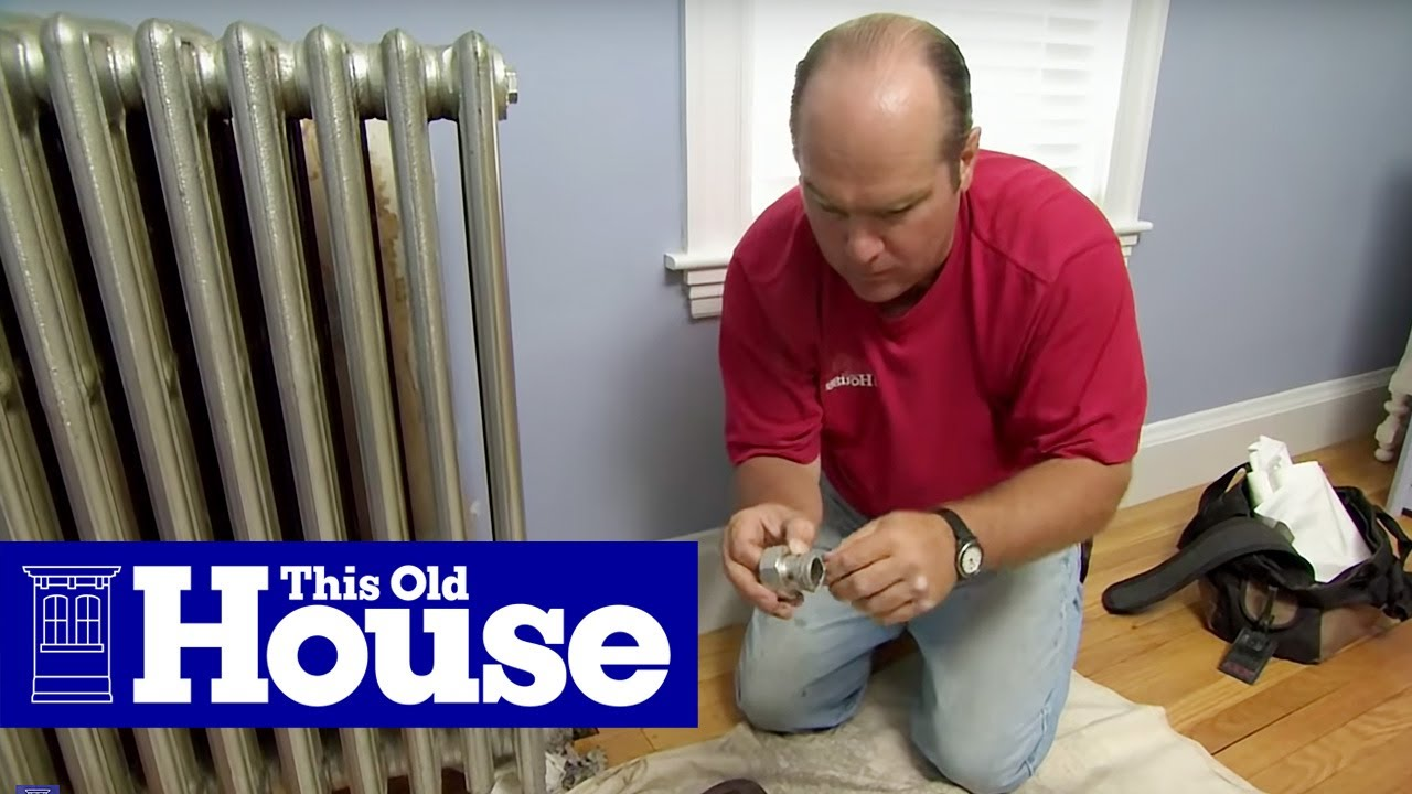 boiler thermostat wiring diagram 3 phase outlet how to install thermostatic radiator valves this old house youtube