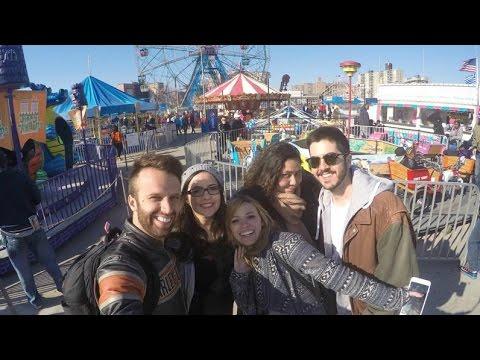 VLOG NY #6: Coney Island ♥ Priscila Paes