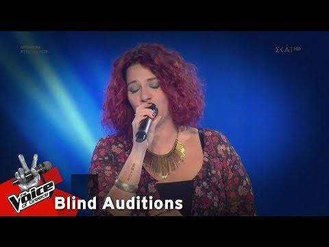 Μαρία Βασιλοπούλου – A Natural Woman | 1o Blind Audition | The Voice of Greece