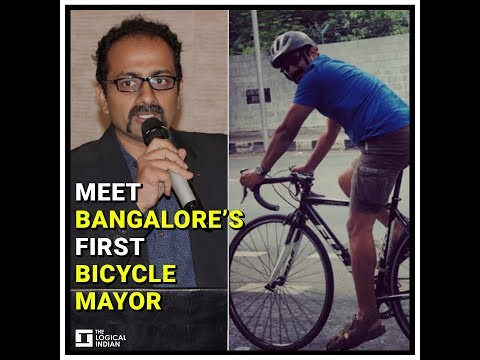 This 42-year-old is the new Bicycle Mayor of Bangalore