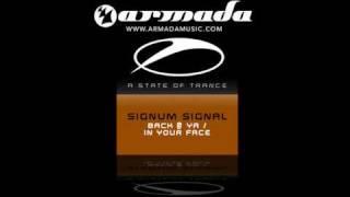 Signum Signal - Back @ Ya (Original Mix)