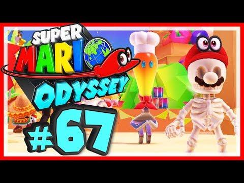 SUPER MARIO ODYSSEY # 67 🎩 Mario sieht etwas ausgehungert aus! [HD60] Let's Play Super Mario Odyssey
