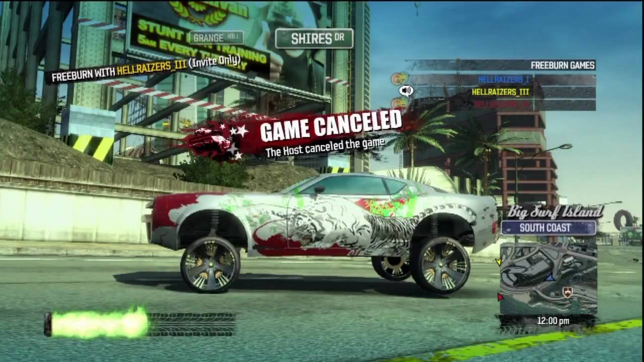 Burnout Paradise Hellraizers Glitch ✖ in How To Fuse Cars