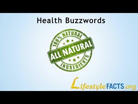 Health Buzzwords