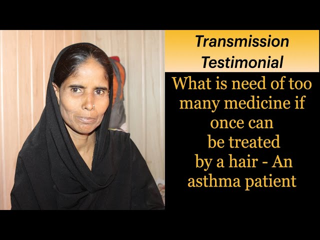 Asthma Patient Sharing her Experience