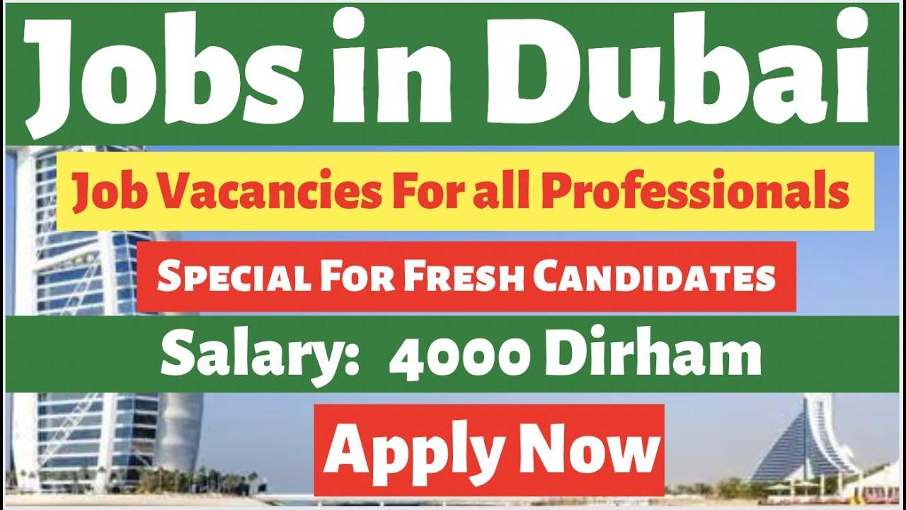 Vacancies Open in Dubai For All Job Seekers, Accountant Jobs/Hotel Jobs/Jobs in Dubai