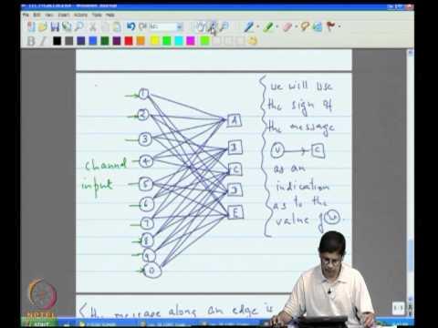 Mod-09 Lec-31 Gallager Decoding Algorithm A