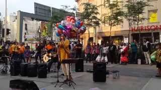 bolywood artist from india feat sentuhan busker