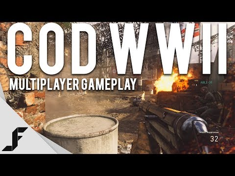 CALL OF DUTY WW2 MULTIPLAYER GAMEPLAY