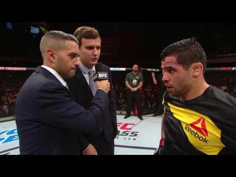 Fight Night Brasilia: Renan Barao Octagon Interview