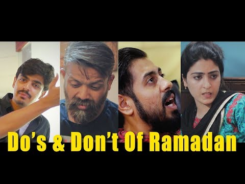 Do's and Don't of Ramadan | Bekaar Films | Ramadan 2018