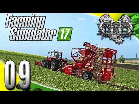 Farming Simulator 2017 Gameplay :EP9: Sugar Beet Silliness & New Plow! (PC HD GIANTS Island)