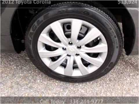 2012 toyota corolla used cars montgomery al youtube. Black Bedroom Furniture Sets. Home Design Ideas