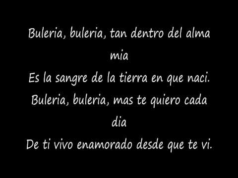 david bisbal-buleria  lyrics