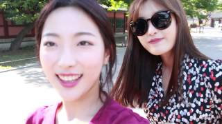 vlog : Beautiful Korea / Changdeokgung Palace Secret garden .