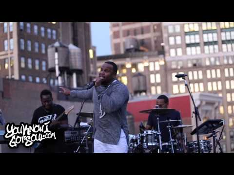 """Avant Performing His New Single """"Special"""" On The Capitol Records Rooftop"""