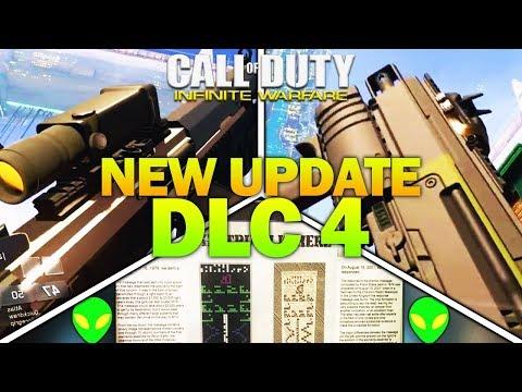NEW UPDATE, NEW WEAPONS, DLC 4 ZOMBIES - Infinite Warfare DLC 4 Update Date, Teasers & Leaks