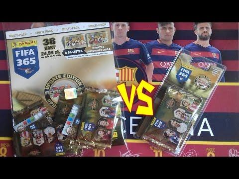 POJEDYNEK FIFA 365 UPDATE EDITION - MULTI-PACK vs BLISTER!!!