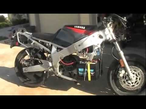 Introduction to the Yamaha eFZR Electric Motorcycle
