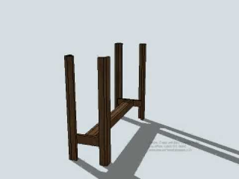 Simple Cheap and Easy Console Table.avi