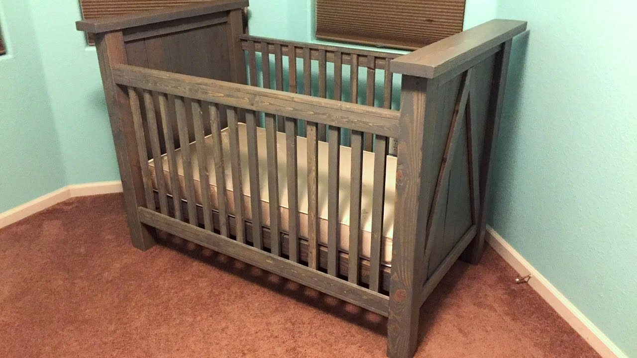 DIY Custom Baby Crib Build