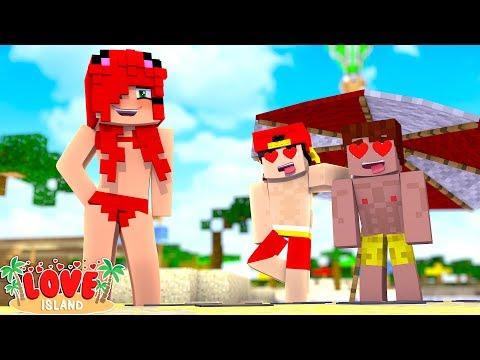 NEW GIRL WINS THE BOYS HEARTS! | Minecraft Love Island | Little Kelly