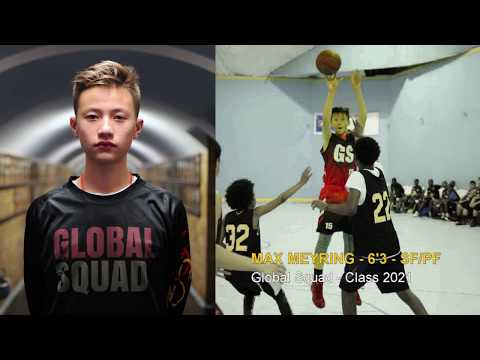 Max Meyring | 6'3 - SF/PF | Global Squad 2017