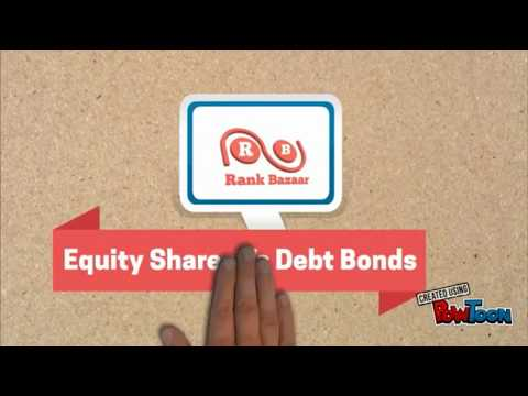 Difference Between Equity and Debt | Stock vs Bond | Financial Instruments and Capital Markets