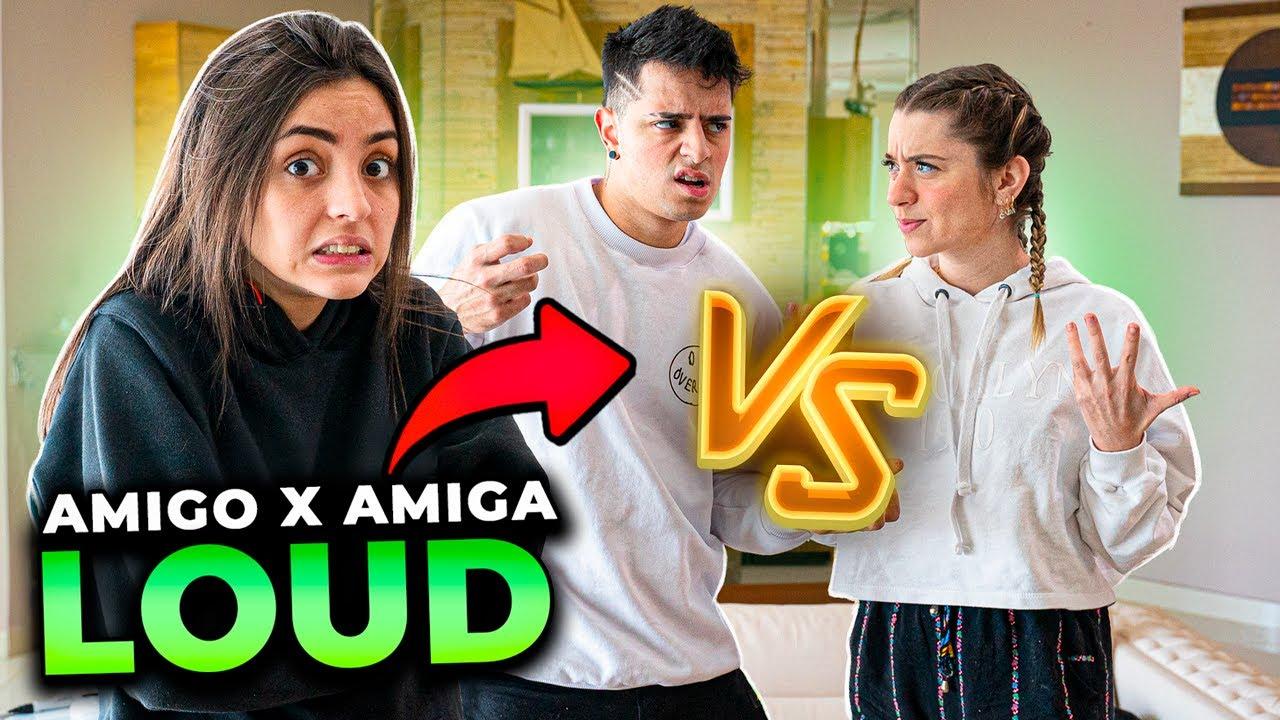 AMIGO VS AMIGA!! QUEM ME CONHECE MELHOR NA LOUD!!