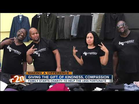 Synergy Baltimore brings together supplies, resources for the less fortunate