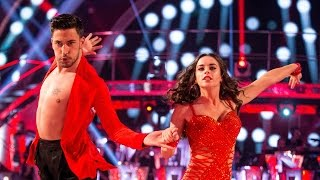Georgia May Foote & Giovanni Pernice Cha Cha to 'I Will Survive' - Strictly Come Dancing:  2015