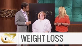 The Steps a Woman Took to Lose Half of Her Body Weight