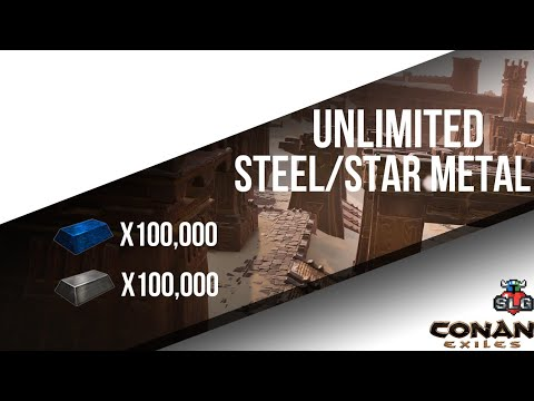 Conan Exiles-Unlimited Steel/Star Metal Glitch-PS4 *Patched*