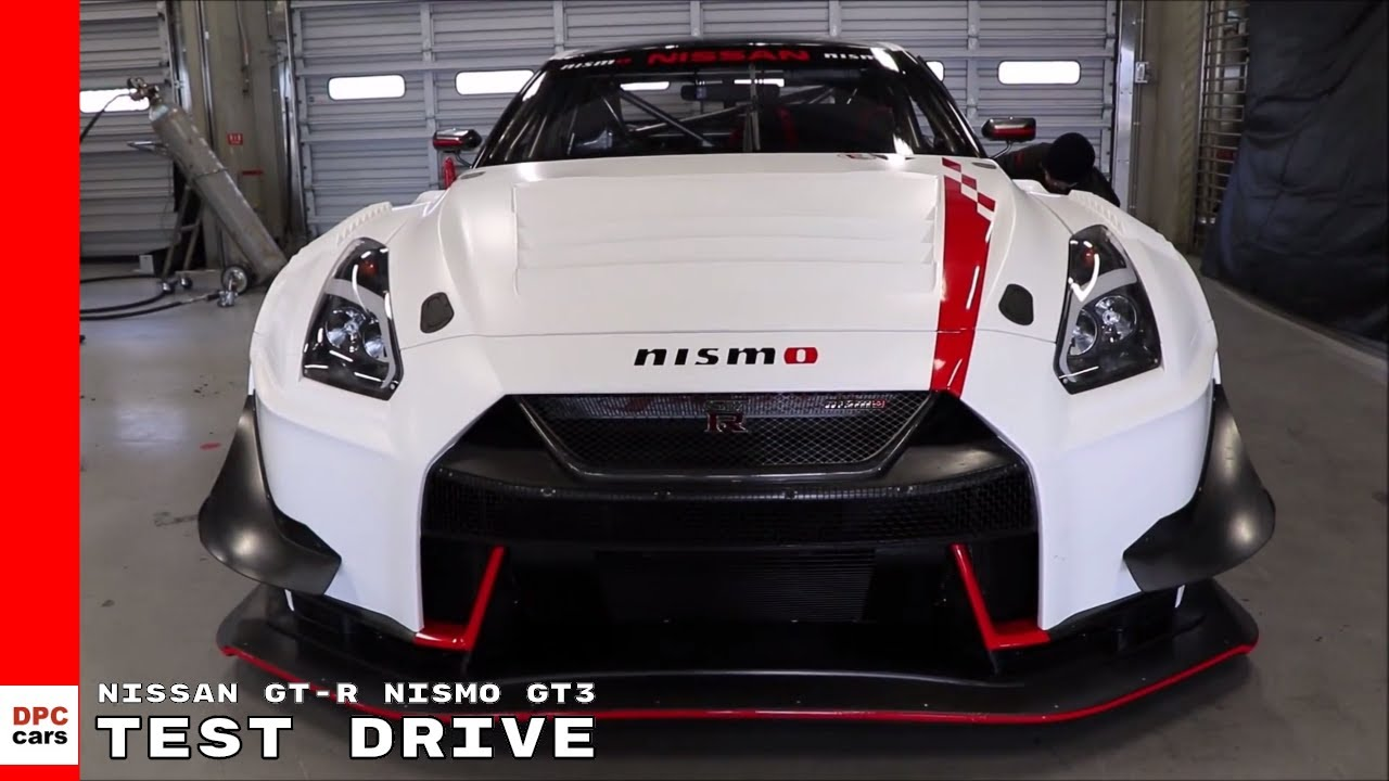 2018 Nissan Gt R Nismo Gt3 Test Drive Shakedown