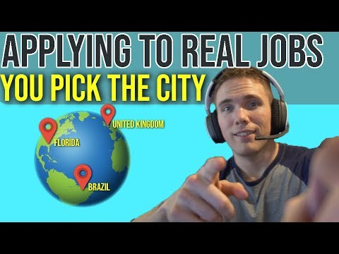 🔴 Applying to Jobs Live - Viewers Pick The City | Job Position!   | @joshuafluke on socials thumbnail