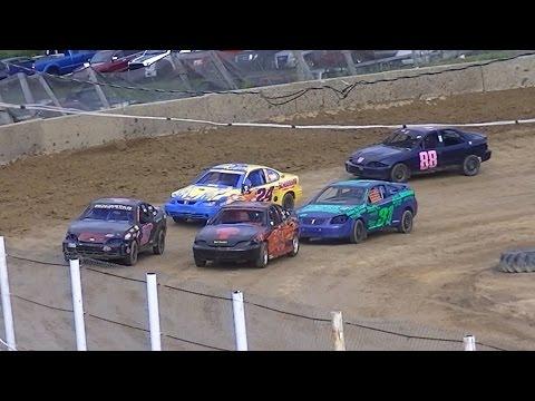 Kids Class Mini Stock Heat | Old Bradford Speedway | 8-28-16