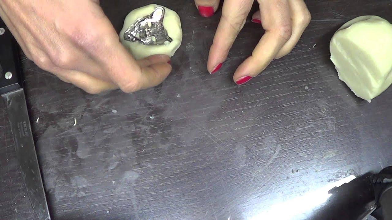 Célèbre come creare uno stampo con silicone e farina - YouTube UF94