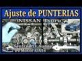 Ajuste de Punterías o Botadores, Nissan Tsuru, Sentra B13