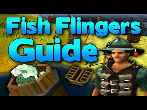 Runescape - Fish Flingers Guide 2014 - Great Fishing XP