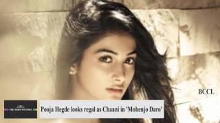 Pooja Hegde looks royal as Chaani in Hrithik Roshan's 'Mohenjo Daro'