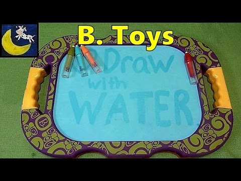 B. H2-Whoa Drawing Board from B. Toys - DRAW WITH WATER!